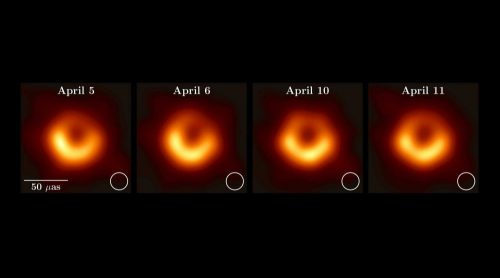 the first image of black hole