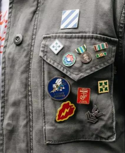 Pins On The Front pocket