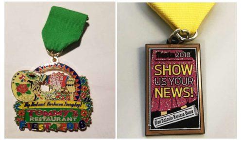 2018 Fiesta San Antonio Medals