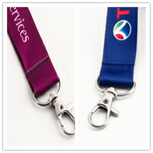 Dye-sublimated printing technology used to lanyards