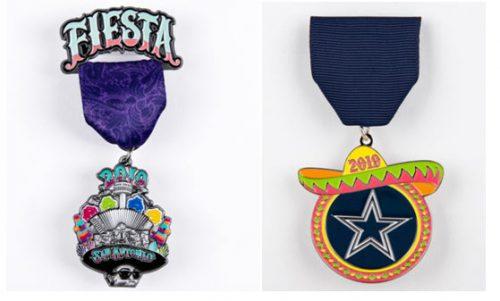 2019 Fiesta San Antonio Medals