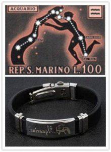 Personalized Bracelet for Aquarius People