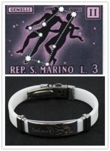 Personalized Bracelet for Gemini People