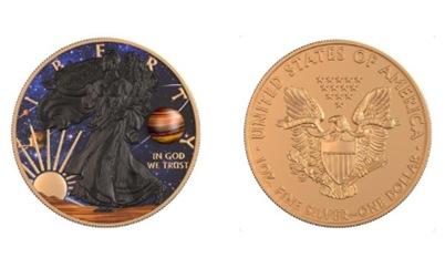 Jupiter 1 Gold Challenge Coins