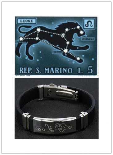 Personalized Bracelet for Leo People