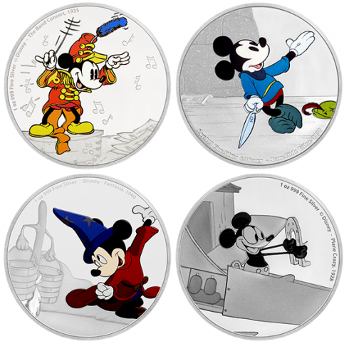 Mickey Mouse Custom Coins