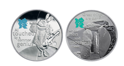 2012 London Olympics Commemorative Coins