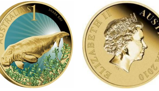 Sea Cow Custom Gold Coins