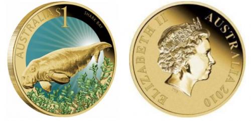 Sea Cow Custom Gold Coins