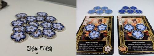 Sakura L5R LCG Custom Game Coins
