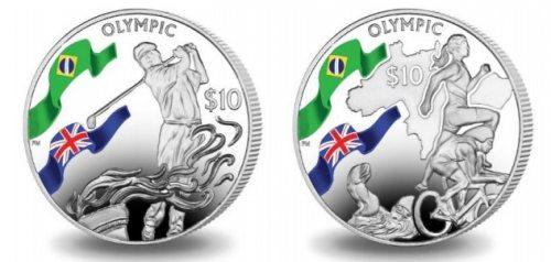 Sports Silver Custom Coins