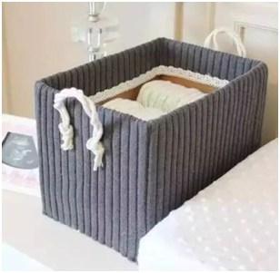 The cloth of storage box