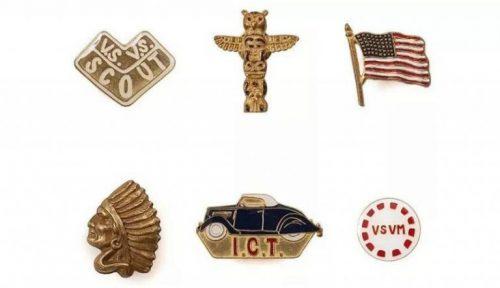 VISVIM's Lapel Pins
