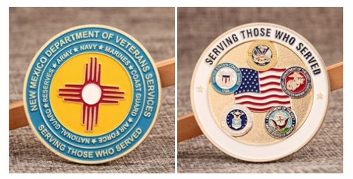 Veterans Military Challenge Coins