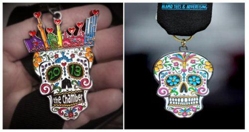 Skeleton Fiesta Medals