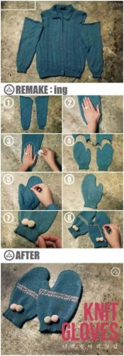 The Process of Doing a New Pair of Gloves