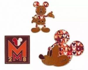 July's Disney Custom Pins
