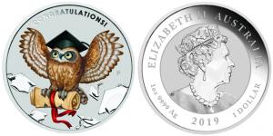 2019 Graduation Celebrates Coins