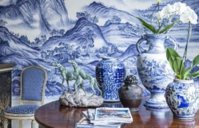 Blue-and-White Porcelain Decorations