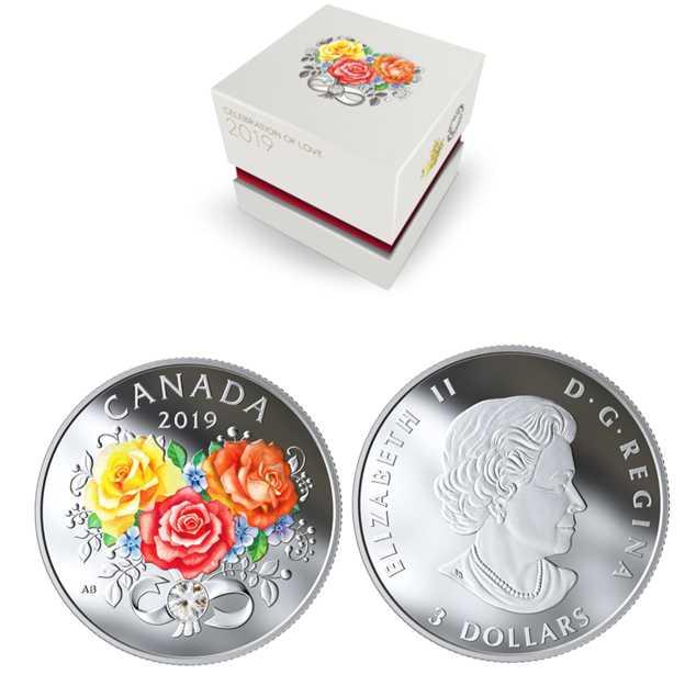 Celebration of Love Custom Coins