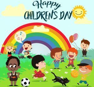 Happy Children's Day together