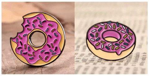 Donut Enamel Pins