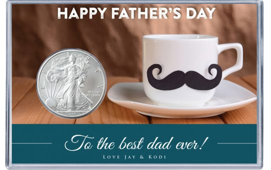 Happy Father's Day Custom Coins