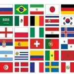 National-flag-stickers