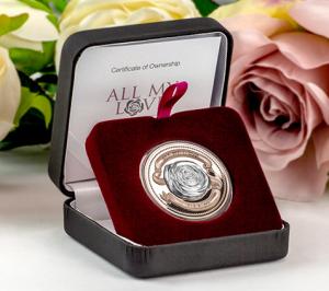 Love Custom Silver Coins