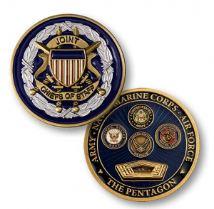 Joint Chiefs of Staff Challenge Coins