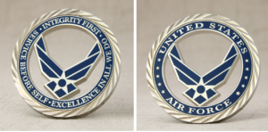 US Air Force Challenge Coins