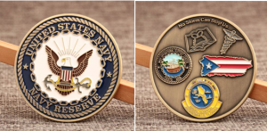 U.S. Navy Challenge Coins