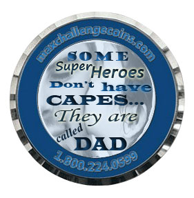 Specially customized coins for Father's Day