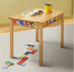 Amazing table for kids