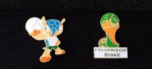 The Brazil World Cup emblem and mascot