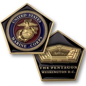 U.S. Marine Corps Challenge Coins