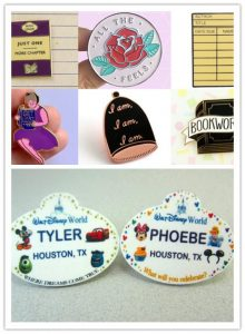 Custom Lapel Pins with Children's names