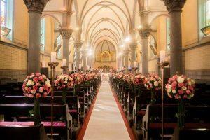 A church wedding