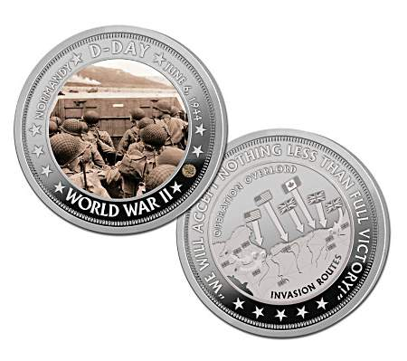 D-Day's 75th Anniverary Custom Commemorative Coins