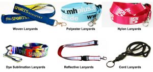 The exhibition show for all lanyards