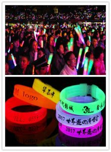 Glow-in-the-Dark products used in Vocal Concert