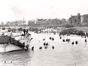 The landing of Juno Beach