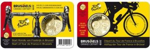 The 2019 Tour de France Belgian Royal Coins card