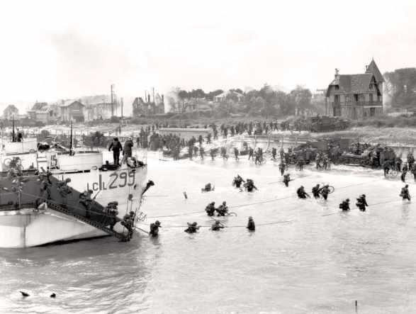 The landing of Juno Beach