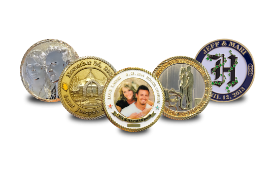 Wedding Theme Coins