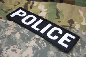 Police PVC Patches