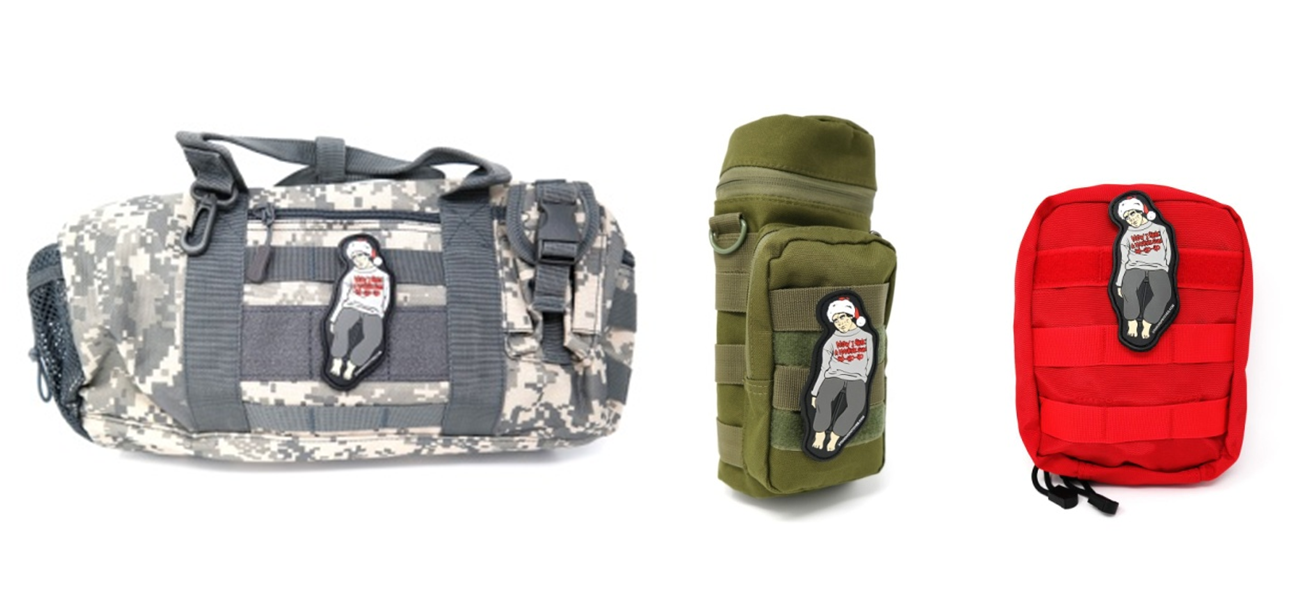 Same PVC Patches for Bags