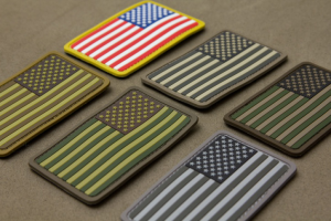 Flag PVC Patches