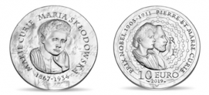 Mary Curie Coins