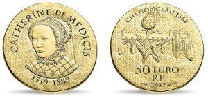 Queen Catherine de Medici Coins